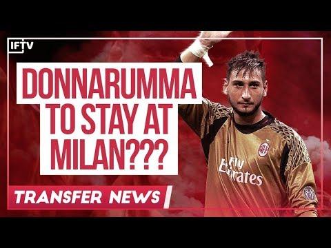 DONNARUMMA RENEWING WITH AC MILAN?????   Serie A Transfer News