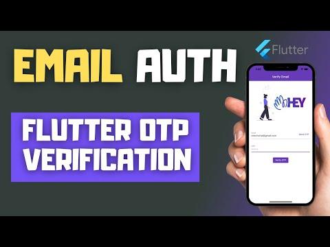 Flutter Email OTP Verification Tutorial