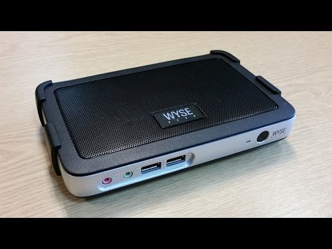Dell Wyse T10 Thin Client Unboxing - YouTube