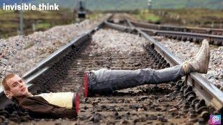 Train Accident !! A boy railway track !! Body o...