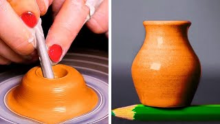 Amazing CEMENT Projects And POTTERY Making Ideas || 5-Minute Decor Projects For Cozy Home!