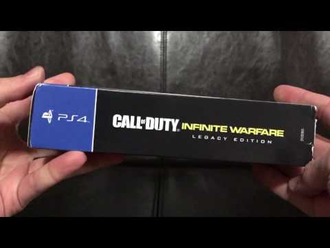 Call Of Duty COD Infinite Warfare Prestige Icon Pack Best Buy Exclusive Unboxing!