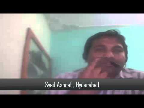 Student Testimonial - Syed Ashraf Khundmeer
