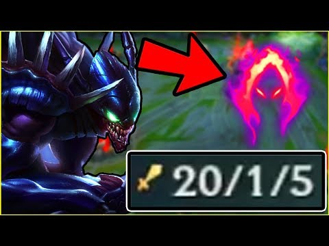 KHA'ZIX PRE-SEASON DARK HARVEST ANNIHILATION! | League of Legends thumbnail