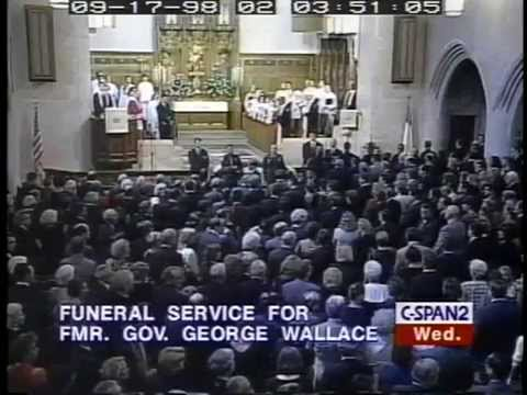 Funeral of Alabama Gov. George Wallace - September 1998