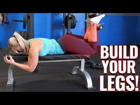How to EASILY do Prone Hamstring Dumbbell Curls
