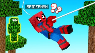 HIDE & SEEK With SPIDERMAN! (Minecraft)