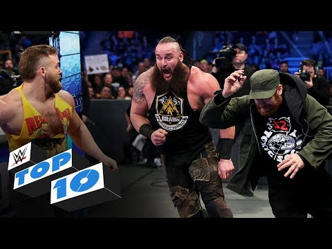 Top 10 Friday Night SmackDown moments: WWE Top 10, Feb. 7, 2020