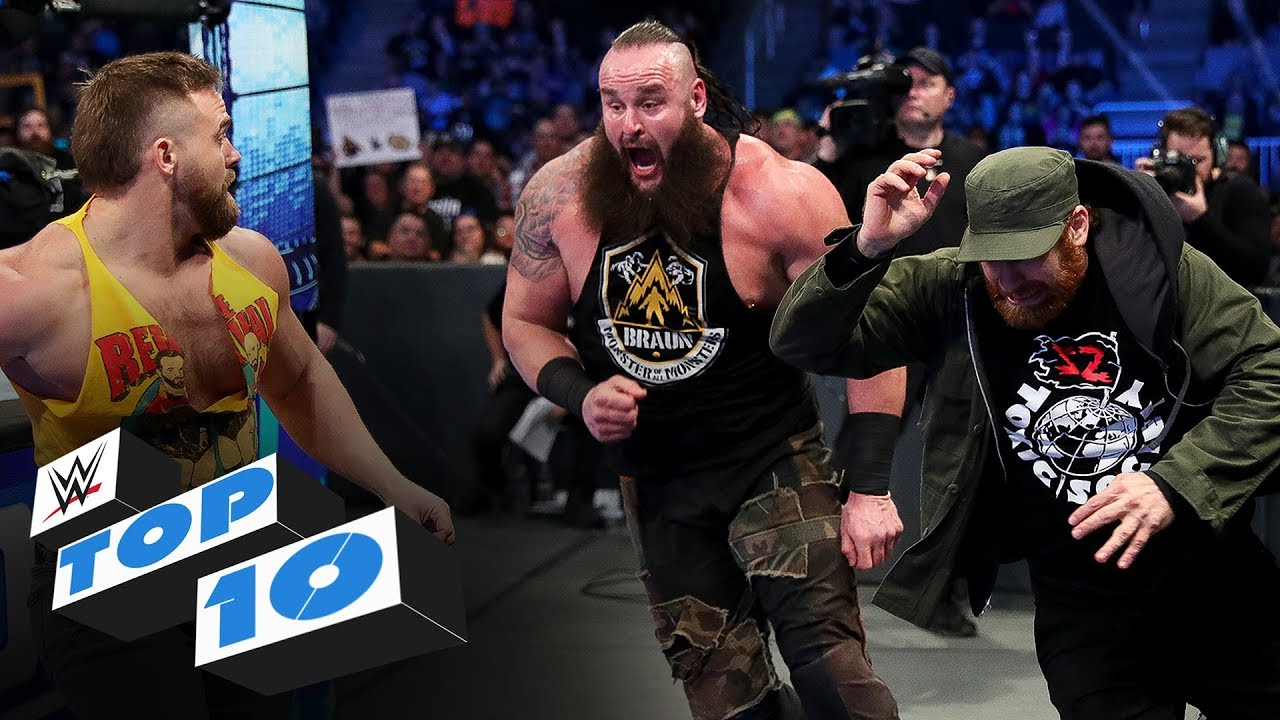 Download Top 10 Friday Night SmackDown moments: WWE Top 10, Feb. 7, 2020