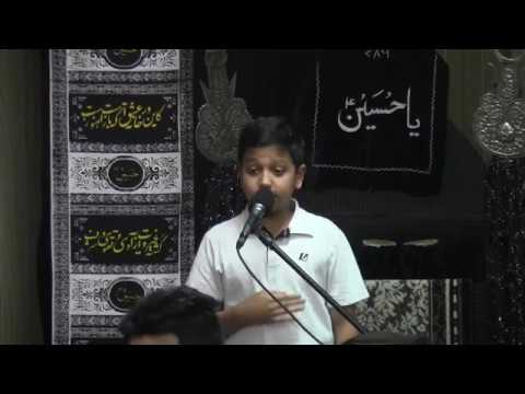 Anjuman-e-Haider-e-Karrar 6th Annual Youth Shab Bedari  - 11/11/2016