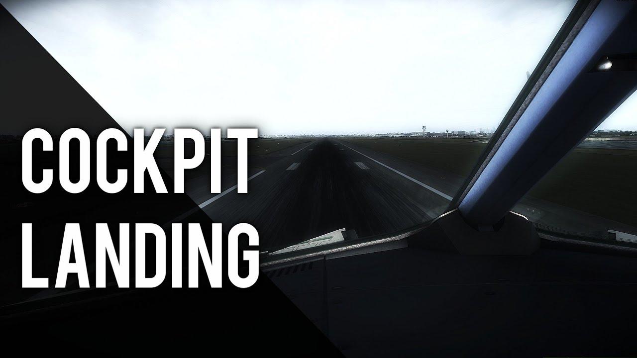 flight simulator x a321 cockpit landing at sydney. Black Bedroom Furniture Sets. Home Design Ideas