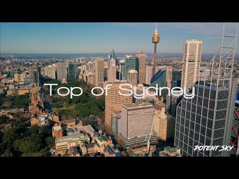 Top of Sydney - DJI Mavic Pro - 4K  Drone Footage