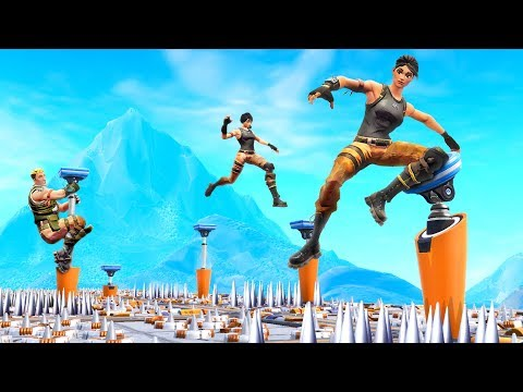 You Will Not SURVIVE This Deathrun! - Fortnite Battle Royale