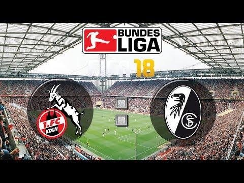 FIFA 18 Bundesliga 1. FC Köln : Sport-Club Freiburg | Gameplay Deutsch Livestream