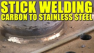 🔥 Tips for Stick Welding Carbon Steel to Stainless Steel