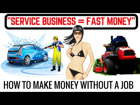 How To Start A Service Business and Make $1500 - $2500 ( Mon