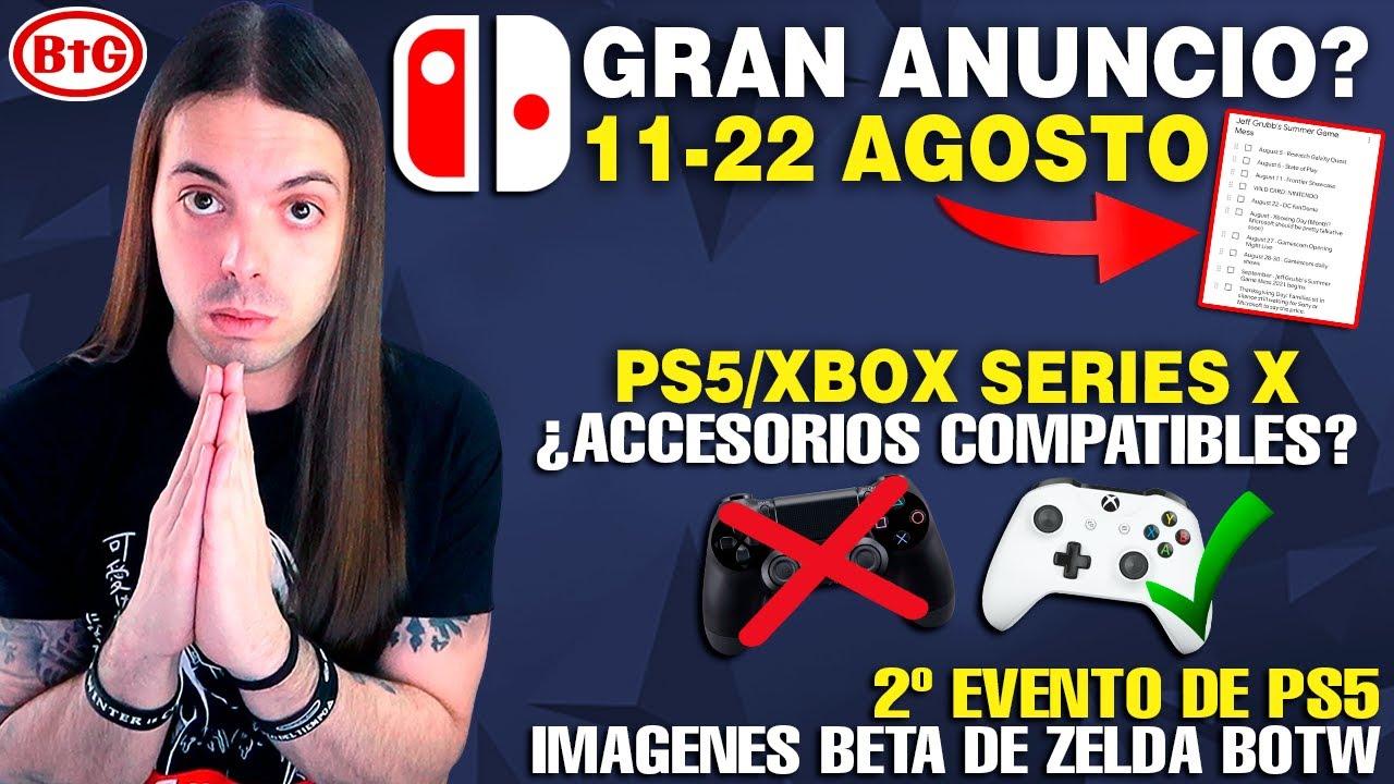 PRESENTACIÓN de NINTENDO del DÍA 11 al 22 posible | MANDOS COMPATIBLES en la NEXT GEN | PS5 - Zelda