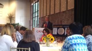 CT State Senator Williams CAGV speech 09/09/14