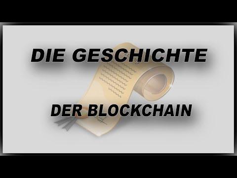 Die Geschichte der Blockchain/Bitcoin