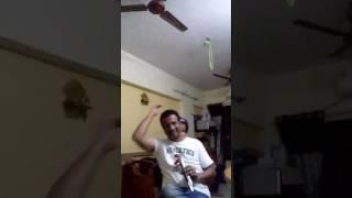 Bade acche lagte hai....karaoke by Manoj Narkar