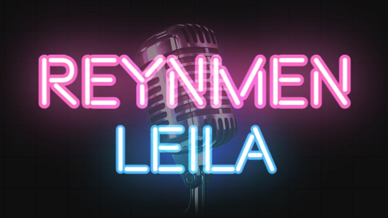 Reynmen Leila Karaoke Sozleri Lyrics Youtube