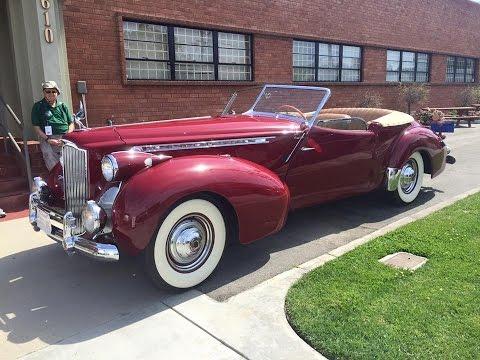 1940 Packard 180 Darrin Convertible Sedan For The Win! | Motorious