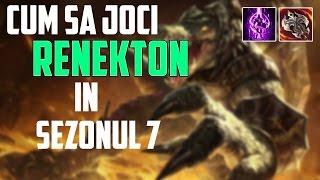 CHALLENGER GAMEPLAY - Cum sa joci Renekton in sezonul 7 - League of Legends Romania
