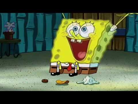 Spongebob sings Indoors for 10 minutes