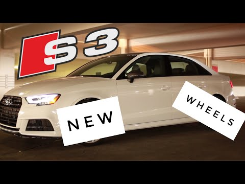 NEW WHEELS FOR THE AUDI S3
