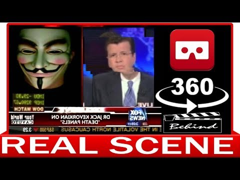 360° VR VIDEO - Anonymous Hacks Fox News Live on Air - 2015 - VIRTUAL REALITY