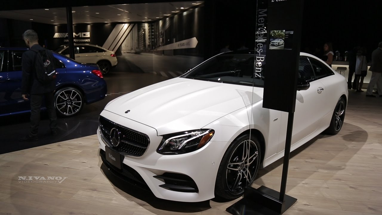 2018 mercedes benz e300 4matic. perfect 4matic 2018 mercedes benz amg e400 4matic coupe  exterior and interior walkaround  nyias 2017 for mercedes benz e300 4matic i