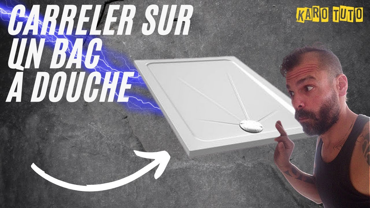 Carreler Sa Douche Poser Des Faiences Sur Un Bac A Douche Youtube