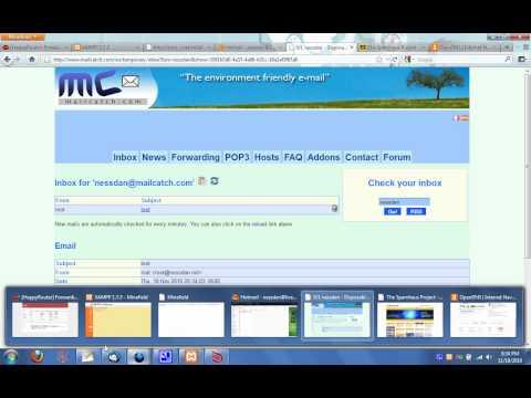 How To: Setup Mercury Mail on an XAMPP Package