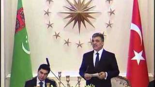 """""""2012'yi Türkiye-Türkmenistan İlişkilerinin Altın Senesi Yapacağız""""-29.02.2012"""