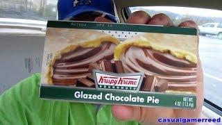 Reed Reviews - Krispy Kreme Glazed Chocolate Pie