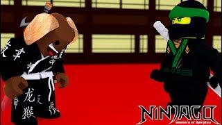 NINJAGO TRAINING BABY MAX BECOMES AN ASSASSIN - Roblox adventures