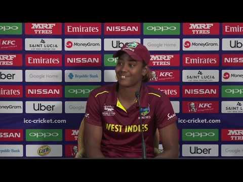 LIVE: WT20 - Windies v Sri Lanka - Post Match Press Conference