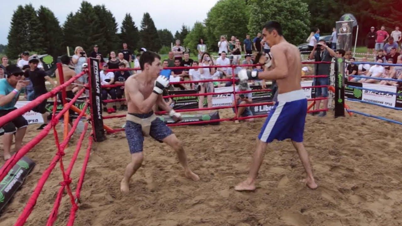 Реальный боксер против Уличного Бойца !!!