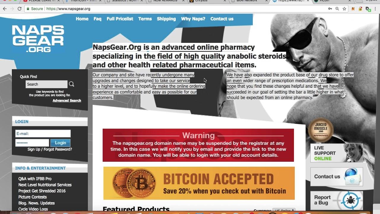 napsgear bitcoins