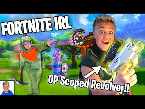 Fortnite Items IRL Part 3!! Making OP Scoped Modded Nerf Blaster!!