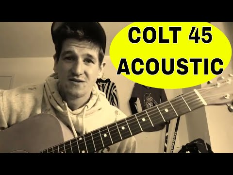 How To Play Colt 45Crazy Rap  Afroman  Easy Acoustic Guitar TutorialLesson
