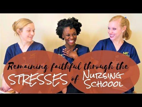 Nursing School | STAYING FAITHFUL ft. The Speights Twins