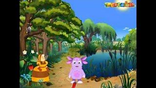 Лунтик познает мир животных и растений. Обучающая игра для детей смотреть онлайн HD