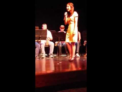 Marian Central Catholic High School Jazz band with Karla Juarez