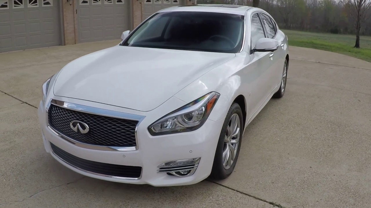 Q70 For Sale >> West Tn 2015 Infinity Q70 Pear WHite Premium used for sale info www sunsetmotors com - YouTube