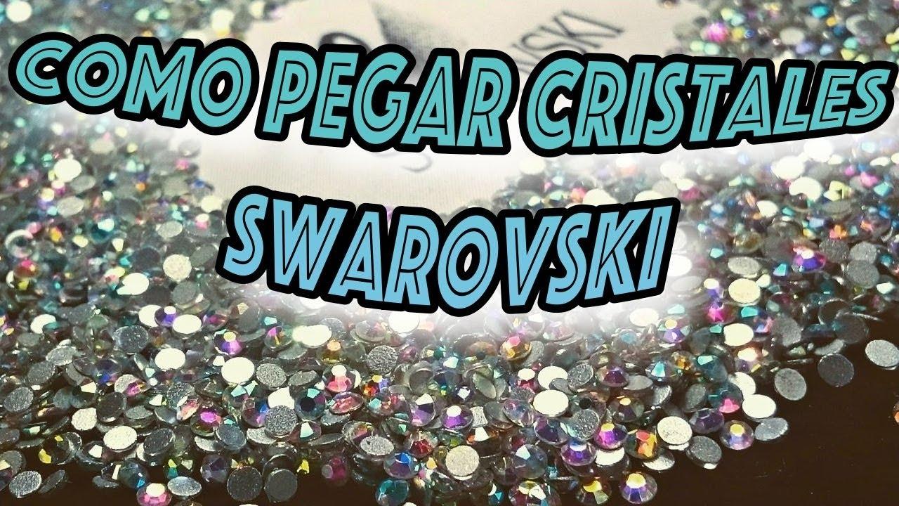 6e4745c5bcfd COMO PEGAR CRISTALES SWAROVSKI O PIEDRAS EN JOYERIA O BISUTERIA ...