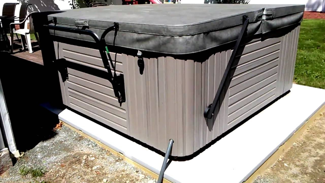 How To Build A Hot Tub Base You