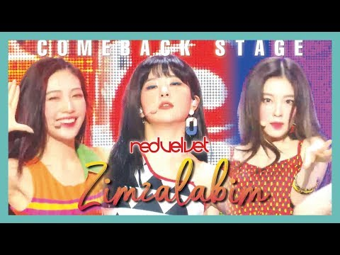 [Comeback Stage] Red Velvet - Zimzalabim,  레드벨벳 - 짐살라빔  Show Music Core 20190622