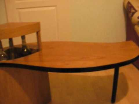 Table basse bar youtube - Table basse rangement bouteille ...