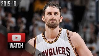 Kevin Love Full Highlights vs Pistons 2016 Playoffs R1G1 - 28 Pts, 13 Reb